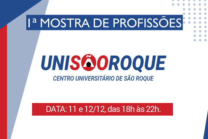 1ª Mostra de profissões na UNISR