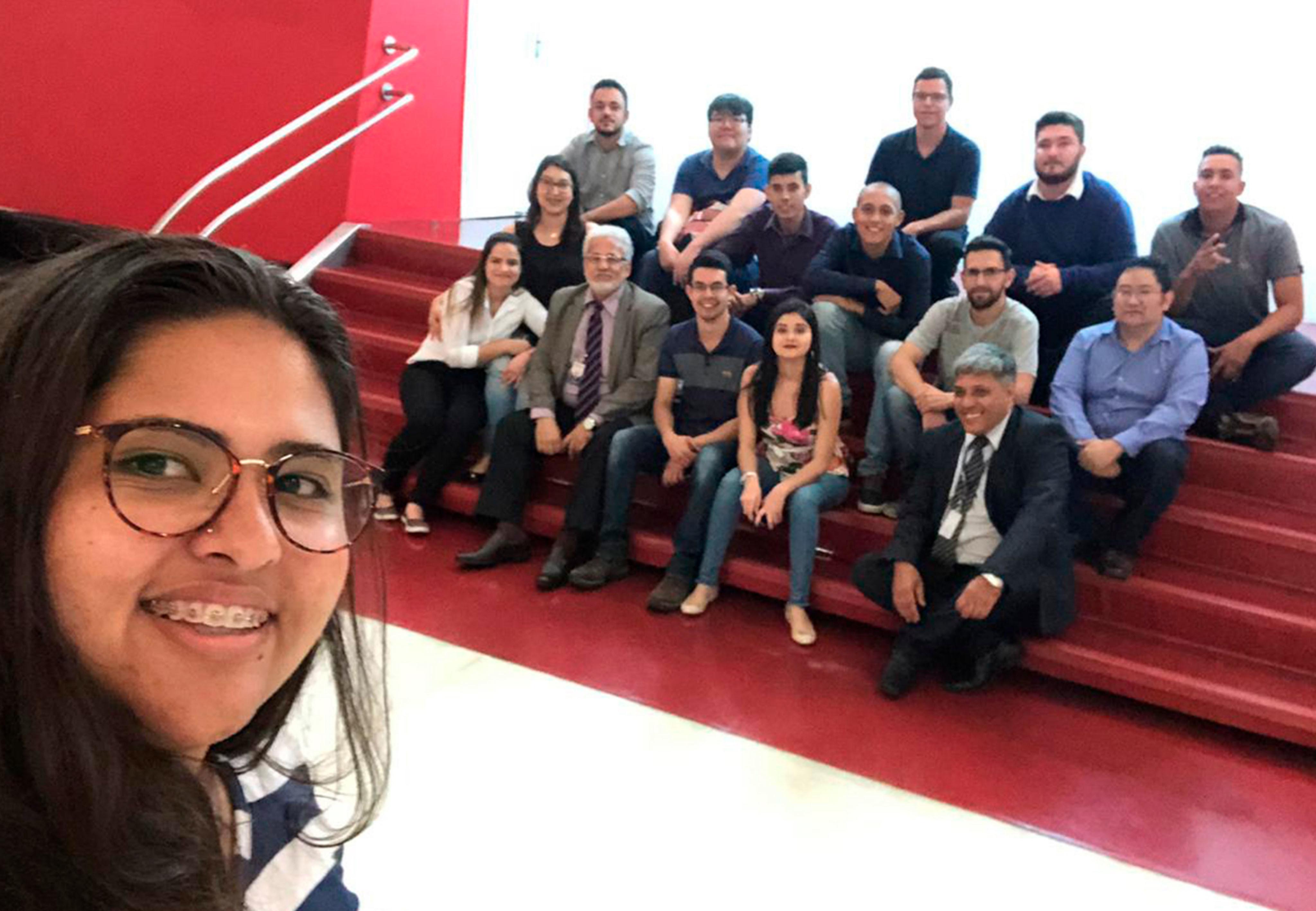 Alunos de Ciências Contábeis da FAC São Roque visitam o CRC São Paulo 07 12